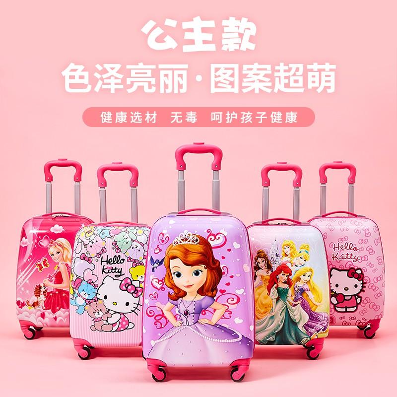 で∮ กระเป๋ารถเข็นเดินทาง กระเป๋าเดินทางพกพา กระเป๋าเดินทางเด็ก กระเป๋าเดินทางเด็ก, เด็กผู้หญิง, เด็กชาย, นักเรียนประถม, ป