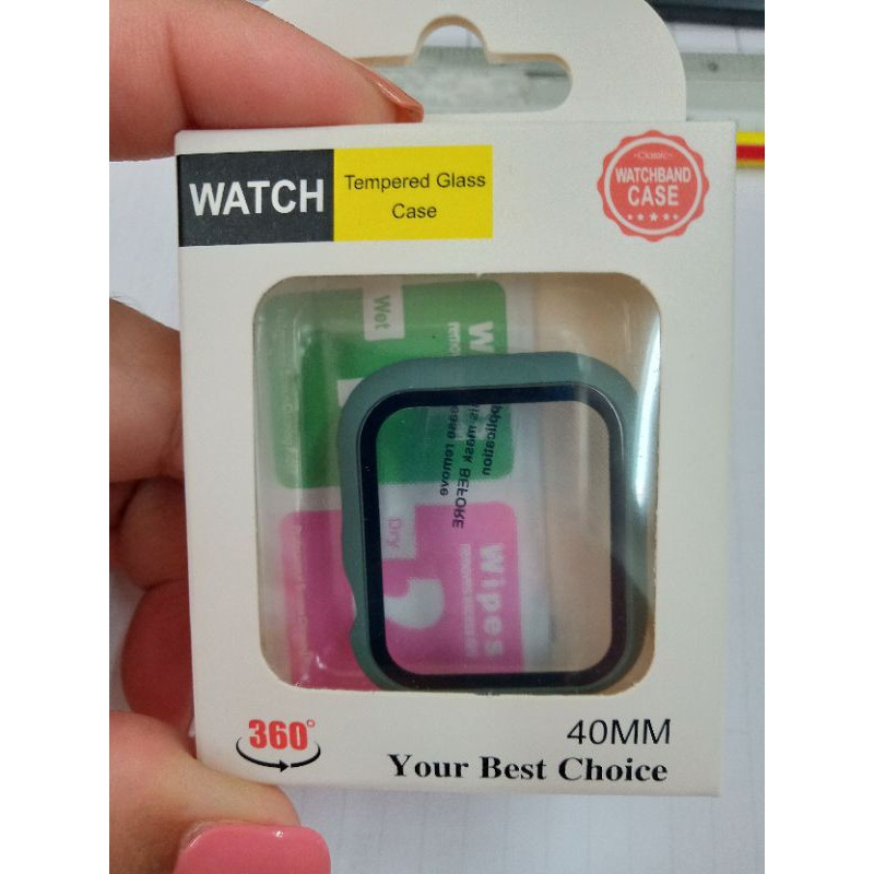 Case Apple watch แบบสีด้าน