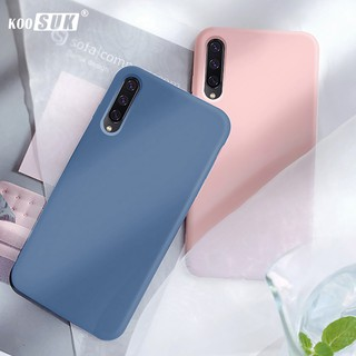 Review Slim Phone Case Samsung A10 A20 A30 A30s A40 A50 A50s A70 Back Cover Smooth Liquid Soft Silicone Flocking Protective Casing