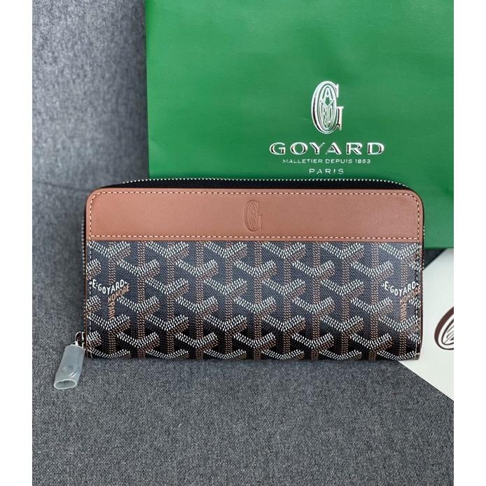 💥💥 New Goyard Long Zippy  Wallet Authentic แท้💯% ของใหม่