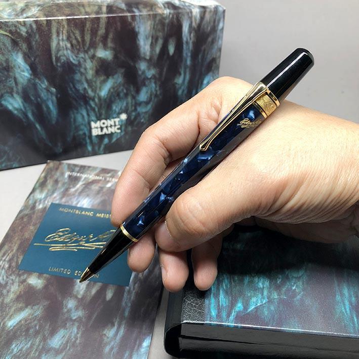 ปากกามือสอง ของแท้ ปากกาหมึกแห้ง MONTBLANC ปี 1998 Limited 03768 / 15000 EDGAR A. POE