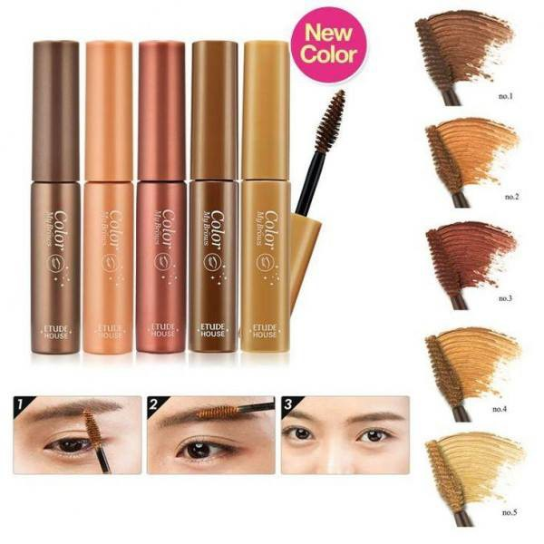 Etude House Color My Brows 4.5g มาสคาร่าคิ้ว