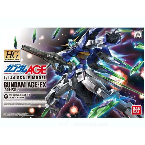 Bandai Hg 1 / 144 Age Gundam Age-fx ของเล่นสําหรับเด็ก