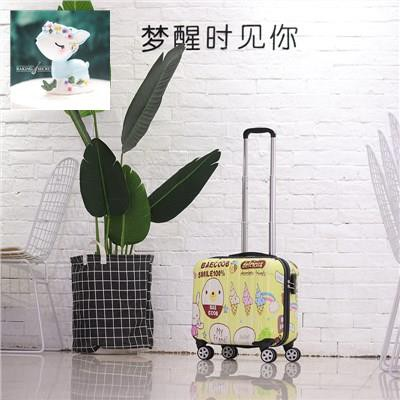 กระเป๋าถือใบเล็กขนาดเล็กหญิงกระเป๋ารถเข็นขนาด 17 นิ้วล้อเอนกประสงค์ กระเป๋าเดินทางใบเล็ก 18 นิ้วกระเป๋าเดินทางใบเล็ก 16