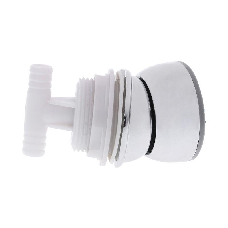 Bathroom Hydromassage Showerhead Water Saving Rotatable Massage Nozzle Shower