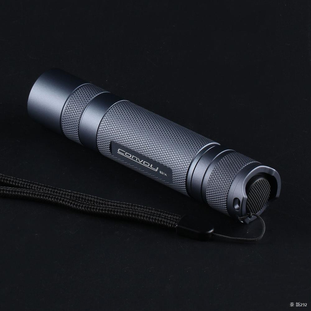 Convoy S21A Flashlight,With Luminus SST40 Lanterna Led, 21700 Torch Flash Light, S2+ Plus Version 2300lm Tactical Campin