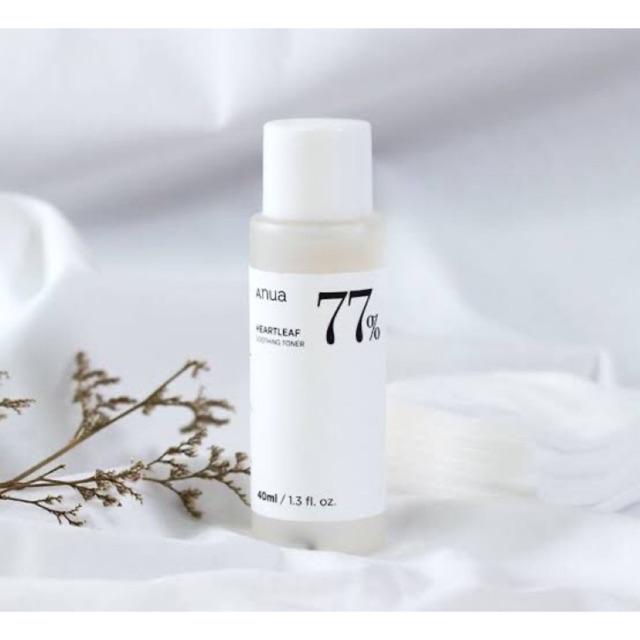 #พร้อมส่ง ฉลากไทย แท้💯% Anua heartleaf 77% soothing toner โทนเนอร์พี่จุน