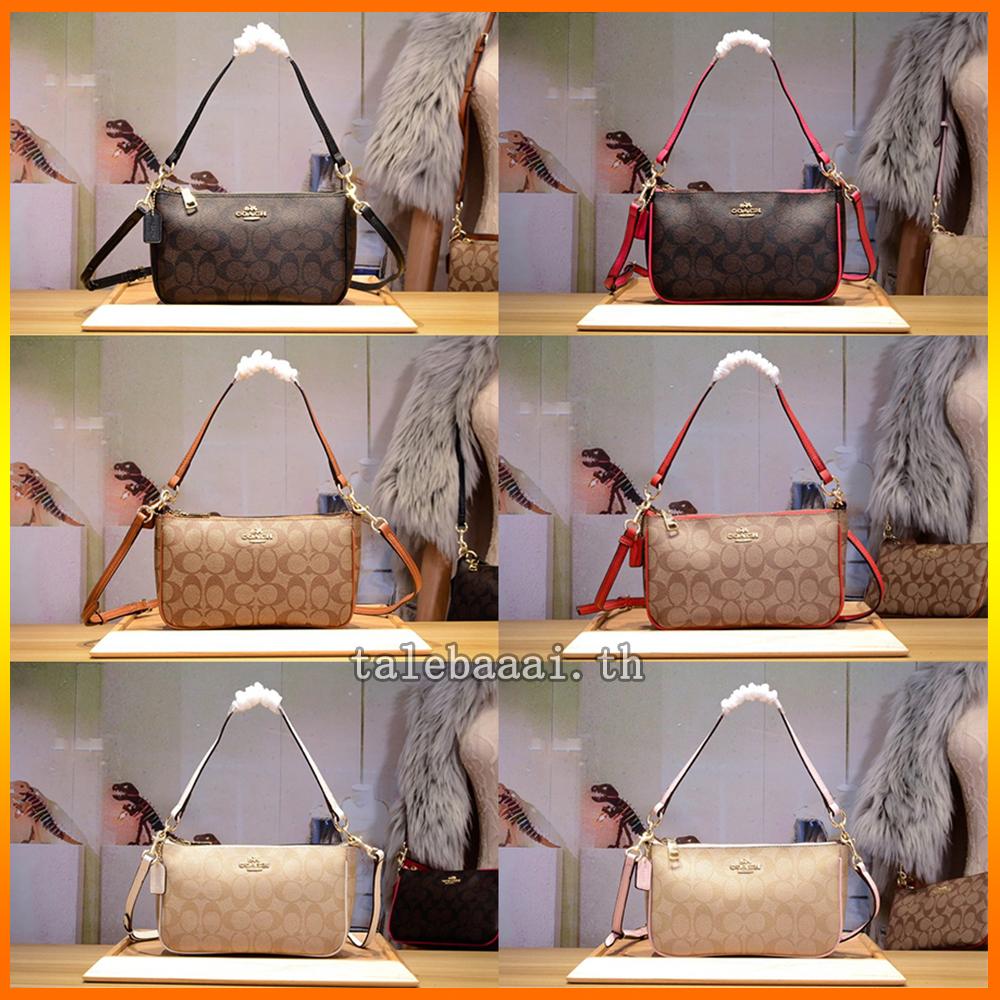 กระเป๋าผู้หญิง Coach แท้ F36674 sling bag / กระเป๋าสะพายข้างผู้หญิง / crossbody bag / กระเป๋าถือ / กระเป๋า forever young