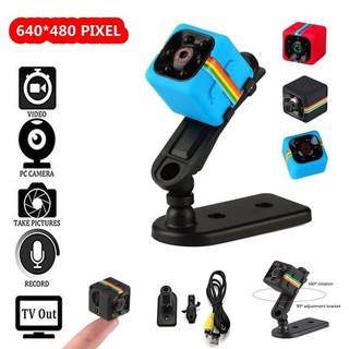 **โค้ด TECH30 ลด 30%** Mini SQ11 Camera Micro Sport Camera Car DVR Night  Vision Voice Recorder Action Cam Camcorder