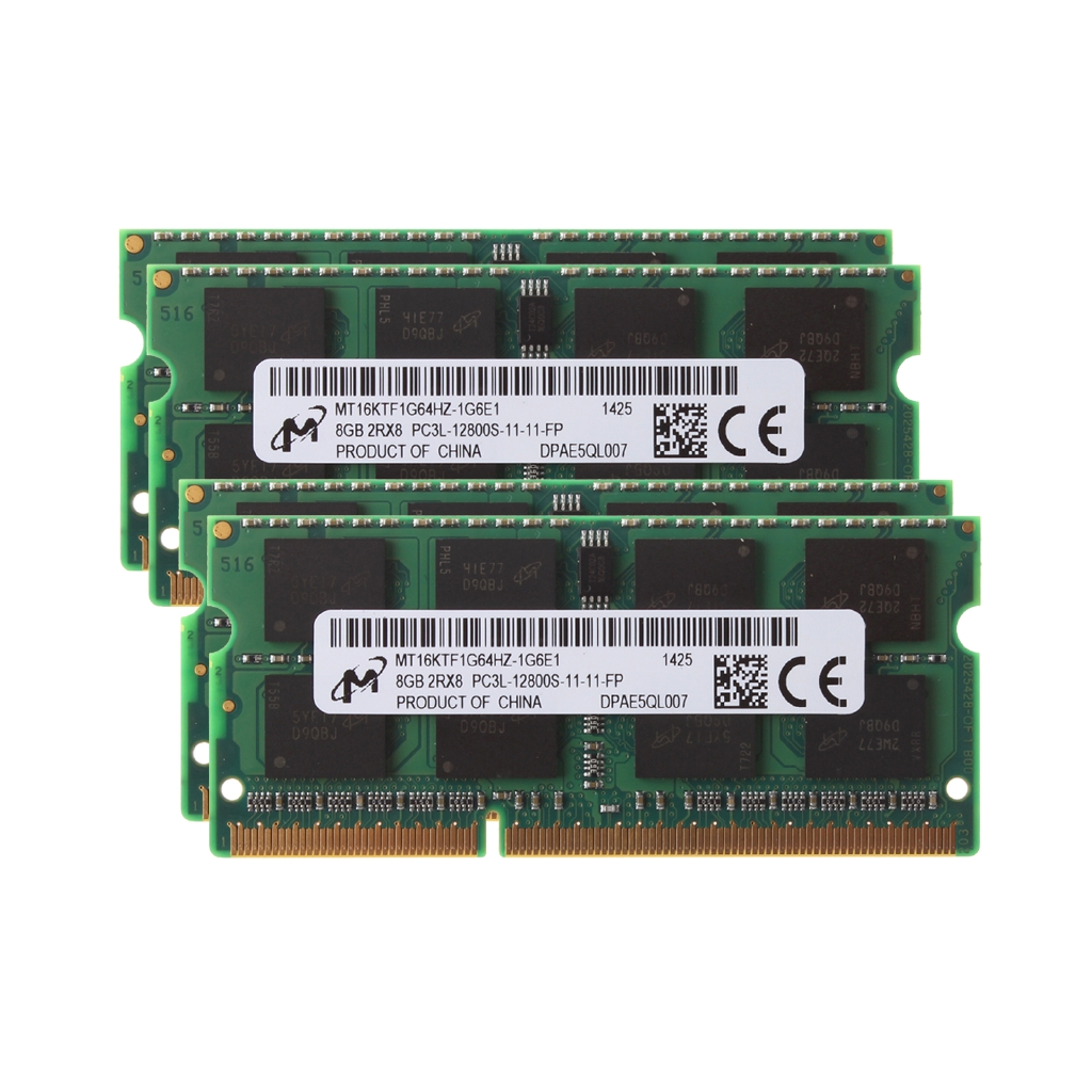 Memory PC3-12800 SODIMM For Laptop DDR3-1600MHz RAM 8GB 2x4GB NEW