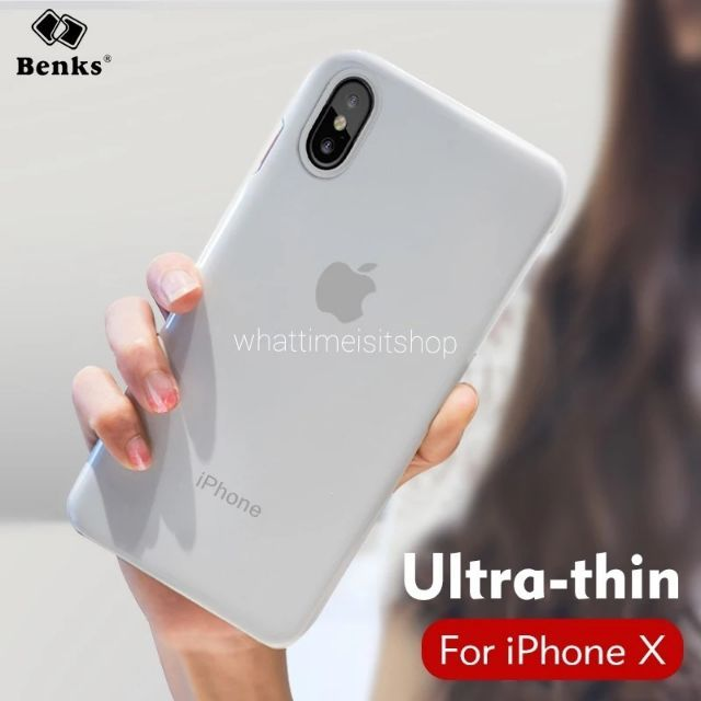 เคสบางขุ่น Matte case iphone X 5 5s se 6 6s 6 plus 6s plus 7 7 plus 8 8plus