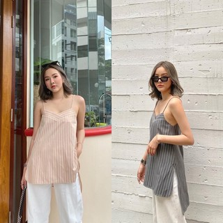 MALIMAYS - Freed stripe top พร้อมส่ง