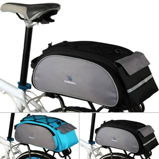 Bicycle Accessories Sports & Entertainment Scratchproof Outdoor Cycling Handbag Bicycle Storage Pannier Bike Saddle Rack Rear Seat Bag Shoulder Cycling Bag #s