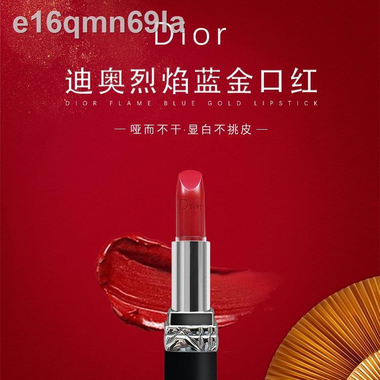 Dior lipstick 999 matte moisturizing สำหรับแฟนเพื่อนภรรยาลูกสะใภ้แฟนของขวัญวันเกิดงานแต่งงานวันวาเลนไทน์