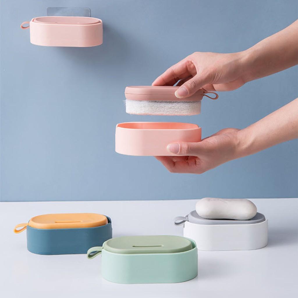 พร้อมส่ง อุปกรณ์ขัดล้างเอนกประสงค์ สามารถใส่น้ำยาล้างจานแล้วขัดได้เลย