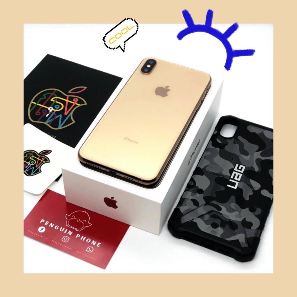 iPhone Xs Max 64GB สี Gold มือสอง สภาพ 99.99% [ไอโฟนมือสอง iPhoneมือสอง ไอโฟนมือ2 ไอโฟนราคาถูก โทรศัพท์มือสอง มือสอง]