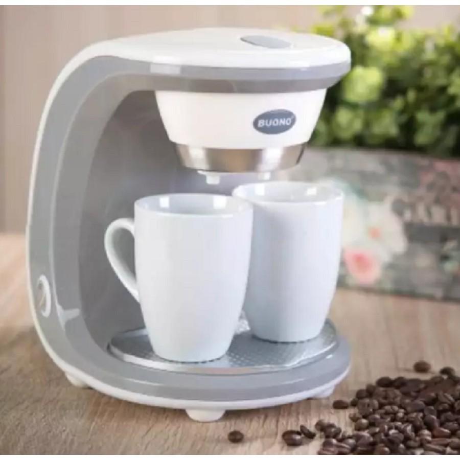 เครื่องชงกาแฟสด บริการเก็บเงินปลายทาง 📌📌เครื่องชงกาแฟสด 2หัว CUPS COFFEE MAKER #สีขาว ทำงานง่ายแค่กดสวิทย์ใส่น้ำก็ได้ดื่