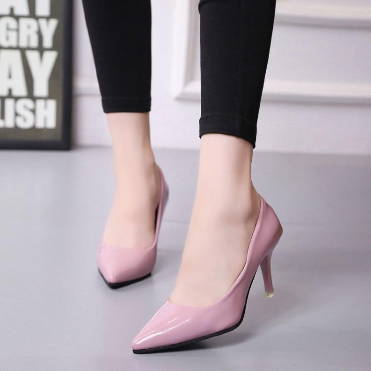 รองเท้าคัชชูส้นเข็มปลายแหลม รองเท้าผู้หญิง ไซส์ใหญ่ พิเศษ 40 41 42 43 44 45 46 47 48 49 50