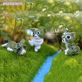 8pcs Resin Craft Fairy Garden Decor Figurines Toy Micro Landscape Kids Decor