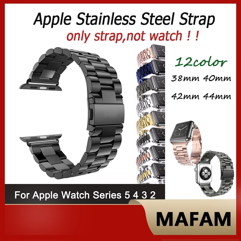 Apple Watch Stainless Steel Strap iWatch Series 5/4/3/2/1 Strap 44mm 42mm 40mm 38mm Watch Band