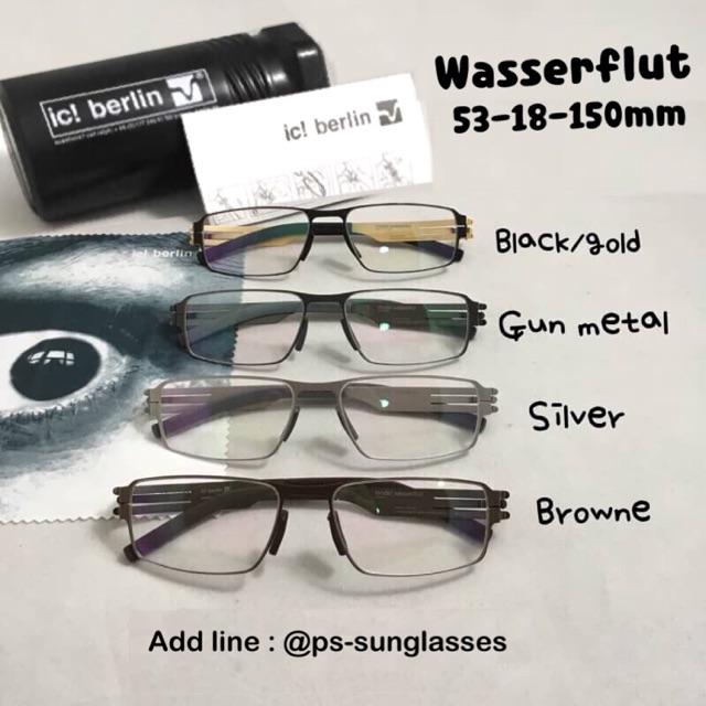 e0b77893d2f แว่นตา กรอบแว่นตา ic berlin รุ่น hira spacial brown