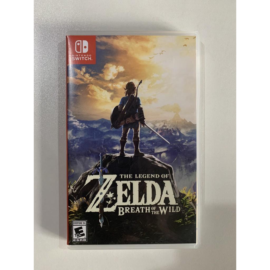 (มีส่วนลดอีก139บาท)แผ่นเกมส์ The legend of zelda breath of the wild มือ2และมือสอง Nintendoswitch