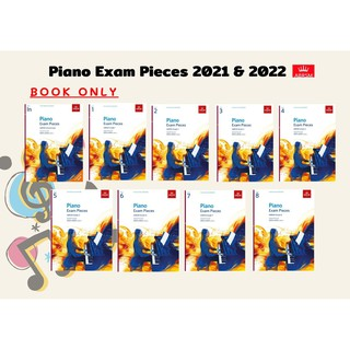 ABRSM Piano Exam Pieces 2021 & 2022 Initial-Grade 8 (Book only)