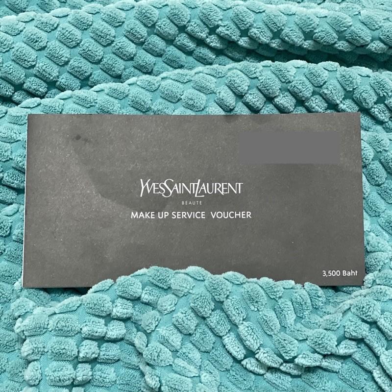 บัตรแต่งหน้า ysl Yves Saint Laurent Beaute
