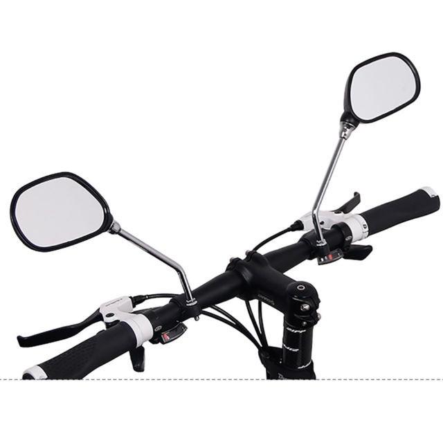 A238 กระจกมองหลัง 1คู่ กระจกมองหลัง จักรยาน รถจักรยาน อุปกรณ์จักรยาน Bicycle Bike Rearview Rear BackView Cycling Mirror