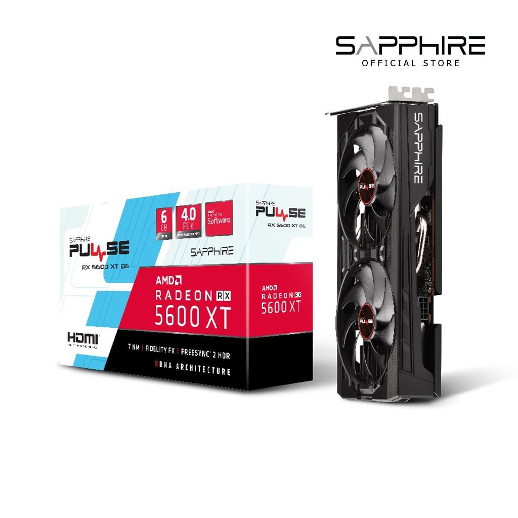 SAPPHIRE VGA PULSE RX 5600 XT BE 6GB GDDR6 192BIT