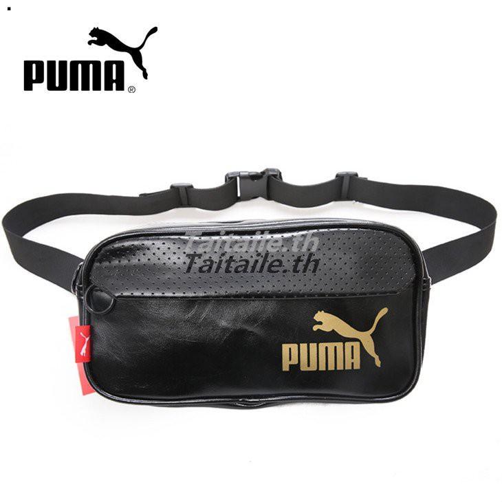 แท้100%Puma กระเป๋าถือสตางค์คุณภาพดีกระเป๋าคาดเอว