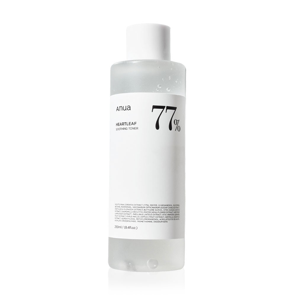 ♞ANUA Heartleaf 77% Soothing Toner 250ml.✶