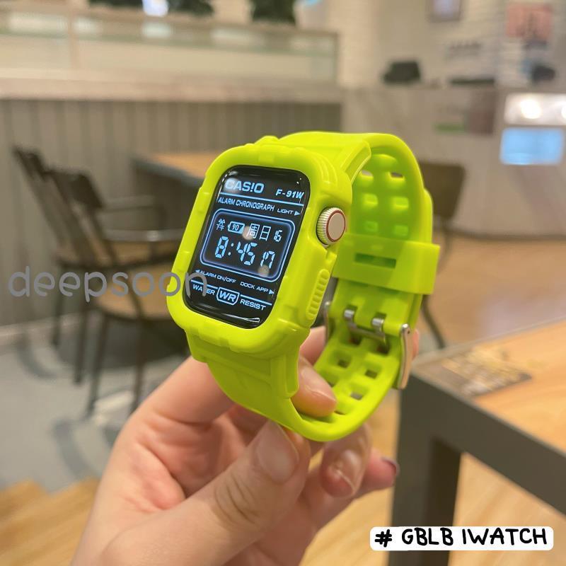 🙇⛳นาฬิกาข้อมือ Applewatch พร้อมเคสสําหรับ Applewatch
