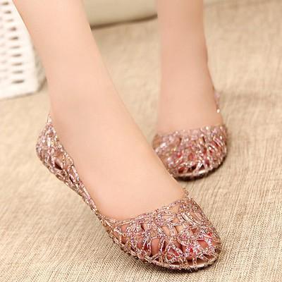 รองเท้าJellyคัชชู คัชชูแบบสวม รองเท้าคัชชูแฟชั่น รองเท้าแฟชั่นผู้หญิง