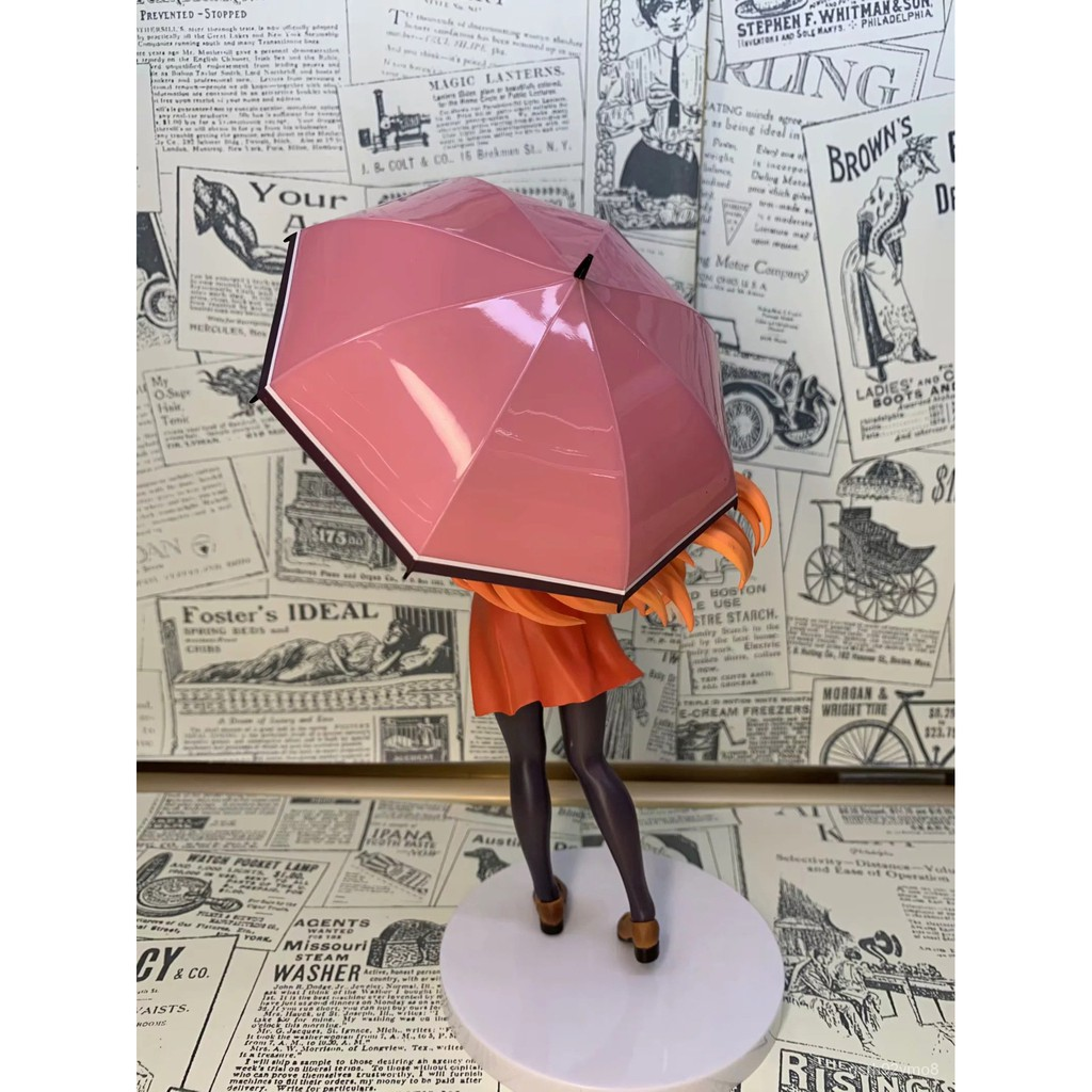 18cm  Art Online Figure Yuuki Asuna Casual clothes An umbrella Ver. Anime Figure Collectible Model Toys#¥%¥# pWaT