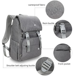 Diaper Bag With USB Interface Large baby nappy changing Bag Travel Backpack for mom Nursing bags
