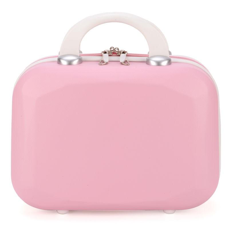 ☸◄❧กระเป๋าเครื่องสำอาง 14 นิ้วกระเป๋าเดินทางใบเล็กกระเป๋าเดินทางใบเล็กผู้หญิงใบเล็กสดและน่ารัก