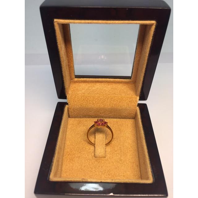 แหวนทองครึ่งสลึง ลายโปร่งรอบวง 96.5% น้ำหนัก (1.9 กรัม) ทองแท้ จากเยาวราช น้ำหนักเต็ม ราคาถูกที่สุด ส่งฟรี มีใบรับประกัน