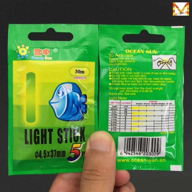 Glow Sticks Fishing Float Fluorescent Rod Night Fish LED Lights Alarm Bell