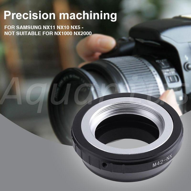 M42-NX Manual Focus Lens Mount Adapter Ring For Samsung NX11
