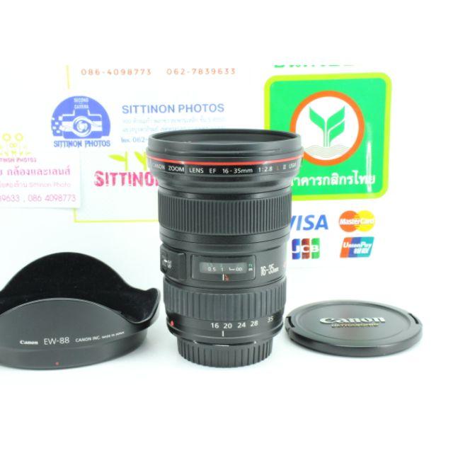Canon EF16-35 mm f2.8LII สภาพใหม่ อดีตประกันศูยน์