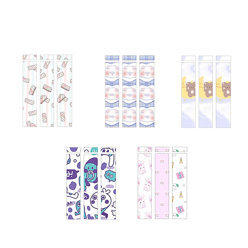 Cute for Apple Pencil Stickers Scratchproof Cute Ultra Thin Stickers Press Stylus Pen Sticker Non-Slip Protective Paper