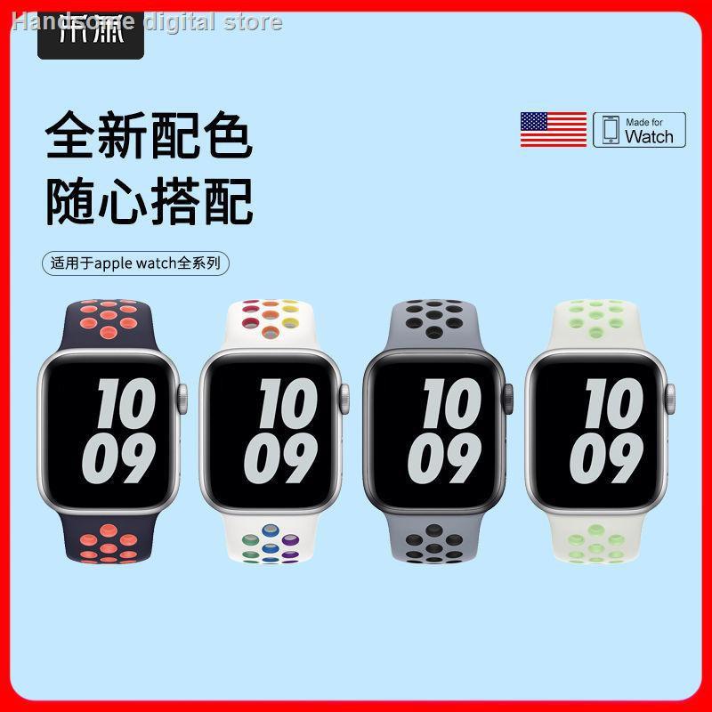 【อุปกรณ์เสริมของ applewatch】✻ใช้ได้ สำหรับ Applewatch Apple Watch พร้อมสาย iwatch 654321 ห่วงซิลิโคนรุ่น se40 / 42mm