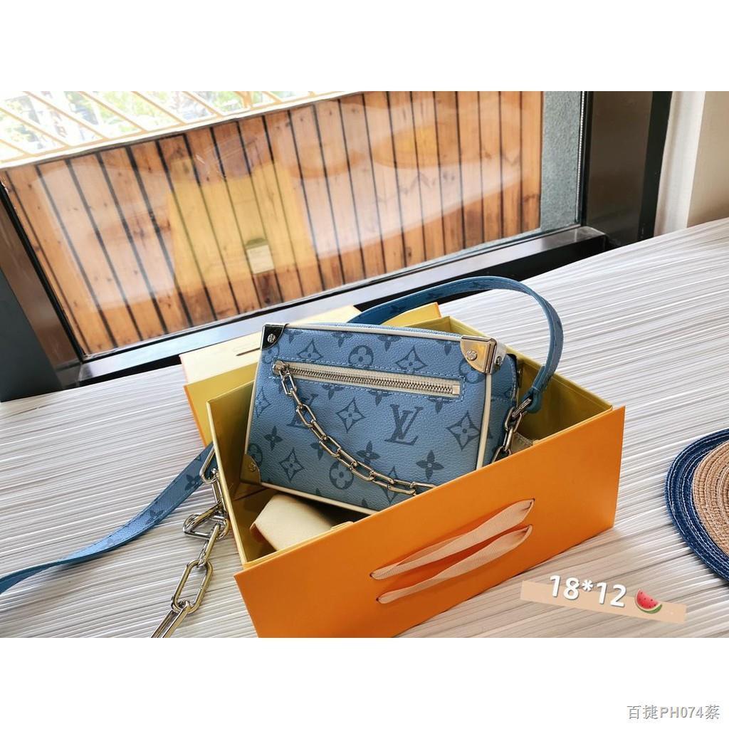 ลดเวลาจำกัด☫♨☁【Quick Shipping】lv กระเป๋ากระเป๋าเดินทางใบเล็กรุ่นใหม่ล่าสุดปี 2021 สะพายข้างผู้หญิง