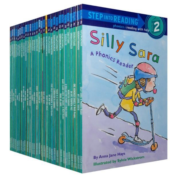 30 Books Step Into Reading Level 2 English Child Story Books vhrc
