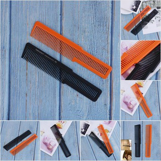 【Purpleredto】1Pc Plastic Hair Cutting Comb Durable Hair Salon Trimming Comb Hairdressing Tool