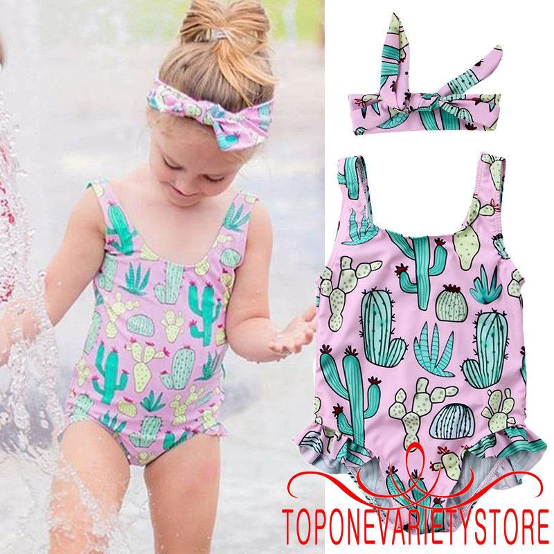 Kid Girl Moana Princess Swimwear Swimming Swimsuit Bikini Monokini Fancy Costume