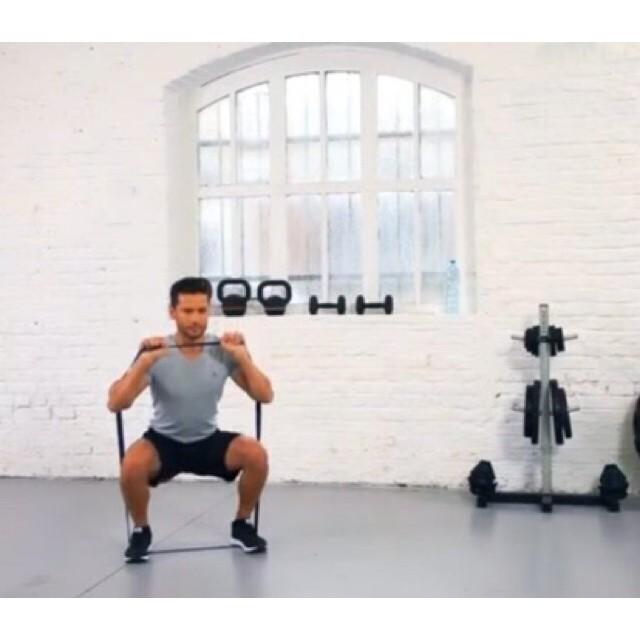ยางยืดออกกำลังกาย ️ 15 kg. Decathlon ผ้ายืดออกกำลังกาย ยางยืดแรงต้าน  ยางยืดออกกำลังกายแรงต้านสูง