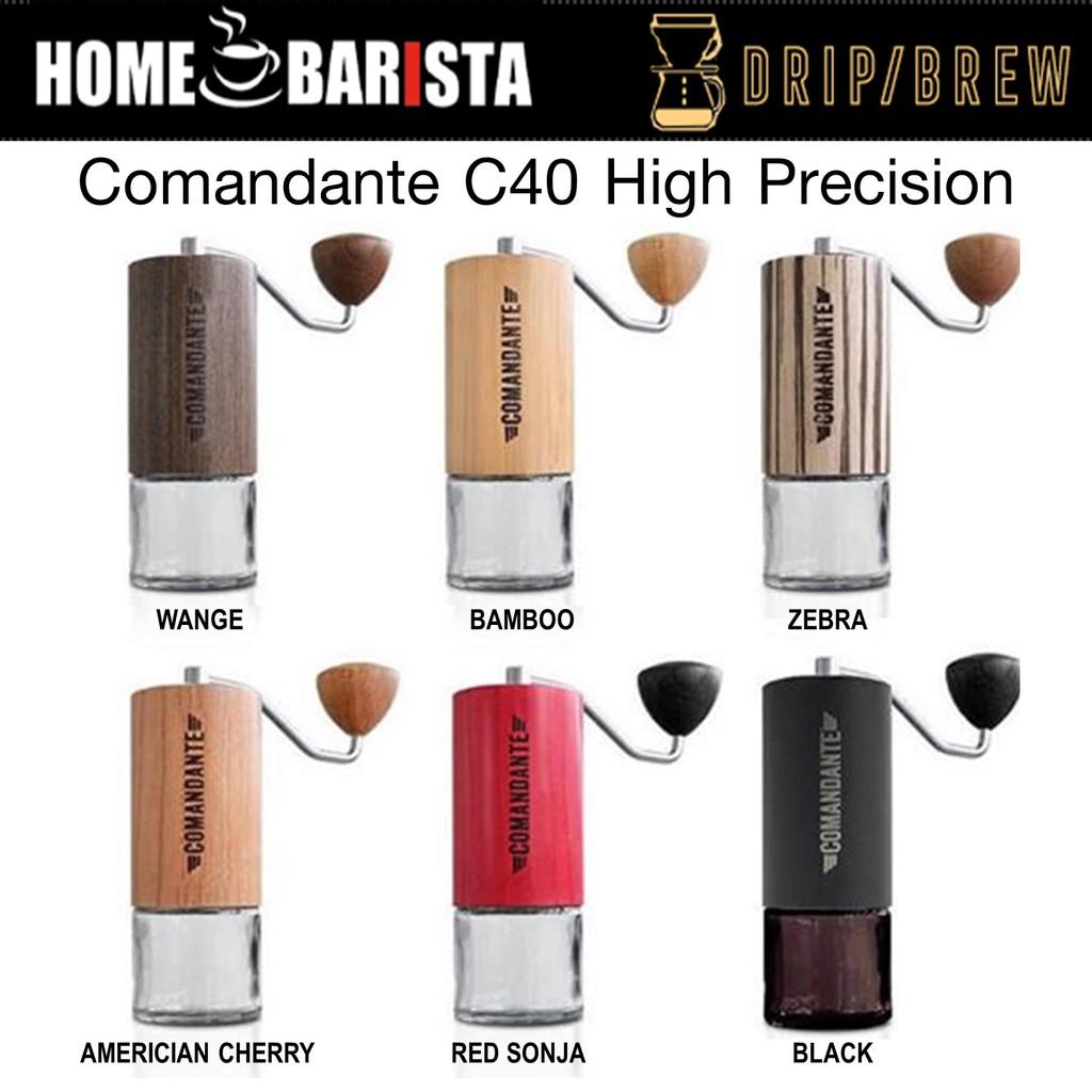 เครื่องบดกาแฟมือหมุน Comandante C40 High Precision เฟืองบด Nitro Blade Hand Grinder (เลือกสี)
