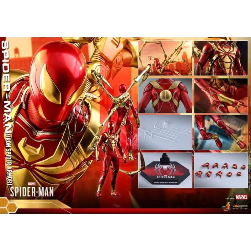 Hot Toys Spider Man Iron spider armor